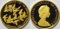 100 $ Gold 1978 Kanada Gemeinsam in die Zukunft - Gänse PP proof  725,00 EUR kostenloser Versand