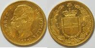 20 Lire 1882 Italien Umberto I., 1878-1900 vz  295,00 EUR kostenloser Versand