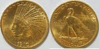 10 $ 1910 USA Indianer 10 $ Gold ss  790,00 EUR kostenloser Versand