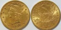 10 $ 1897 USA  ss  725,00 EUR kostenloser Versand
