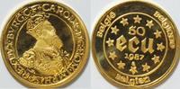50 ECU 1987 Belgien 50 ECU Gold 1987 Belgien , 1/2 oz Feingold bfr  725,00 EUR kostenloser Versand