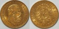 10 Mark 1888 Preussen Friedrich III vz - st  265,00 EUR kostenloser Versand
