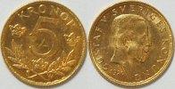 Schweden 5 Kronen Gold