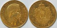 50 Francs Gold 1857 Frankreich Napoleon III   16,13 g ss  765,00 EUR kostenloser Versand