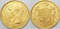 10 Kronen 1908 Dänemark Friedrich VII vz  255,00 EUR kostenloser Versand