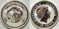 50 Cent 2000 Australien Year of dragon 1/2 oz Silber st  59,00 EUR inkl. gesetzl. MwSt., zzgl. 4,50 EUR Versand
