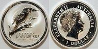1 $ 2003 Australien Kookaburra st gekapselt  58,00 EUR inkl. gesetzl. MwSt., zzgl. 4,50 EUR Versand