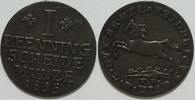 1 Pfennig 1815 Braunschweig Friedrich Wilhelm vz  50,00 EUR inkl. gesetzl. MwSt., zzgl. 4,50 EUR Versand