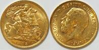 1/2 Pfund 1913 Großbritannien  vz  190,00 EUR  zzgl. 4,50 EUR Versand