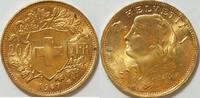 20 Franken 1915 Schweiz  bfr  285,00 EUR kostenloser Versand