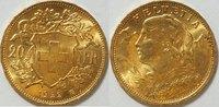 20 Franken 1922 Schweiz  vz-bfr  285,00 EUR kostenloser Versand