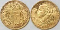 20 Franken 1927 Schweiz  vz-bfr  285,00 EUR kostenloser Versand