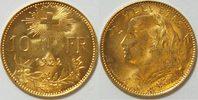 10 Franken 1922 Schweiz  vz-st  169,00 EUR  zzgl. 4,50 EUR Versand