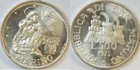 500 Lire 1975 San Marino  vz/st  14,00 EUR  zzgl. 4,50 EUR Versand