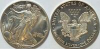 1 $ 1987 USA Silber Eagle  1 oz Silber unc  33,00 EUR  zzgl. 4,50 EUR Versand