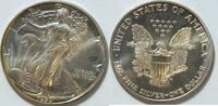 1 $ 1990 USA Silber Eagle  1 oz Silber st  26,00 EUR  zzgl. 4,50 EUR Versand