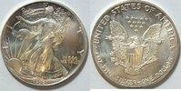 1 $ 1992 USA Silber Eagle  1 oz Silber st  26,00 EUR  zzgl. 4,50 EUR Versand
