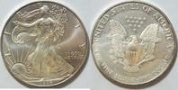 1 $ 1996 USA Silber Eagle  1 oz Silber unc  26,00 EUR  zzgl. 4,50 EUR Versand