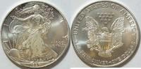 1 $ 1997 USA Silber Eagle  1 oz Silber unc  26,00 EUR  zzgl. 4,50 EUR Versand