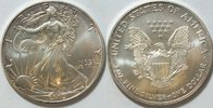 1 $ 2002 USA Silber Eagle  1 oz Silber unc  29,00 EUR  zzgl. 4,50 EUR Versand