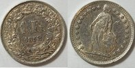 1 Franken 1952 Schweiz  ss  3,00 EUR  zzgl. 2,95 EUR Versand