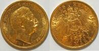 20 Mark 1905 Preussen Wilhelm II ss  355,00 EUR kostenloser Versand