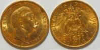 20 Mark 1909 Preussen Wilhelm II vz  355,00 EUR kostenloser Versand
