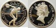 10 $ 2001 Cook Inseln Olympischen Spiele 2004 Athen PP gekapselt  28,00 EUR  zzgl. 4,50 EUR Versand