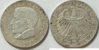 5 DM 1957 BRD Eichendorff ss  174,00 EUR  zzgl. 4,50 EUR Versand