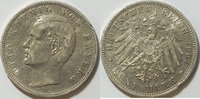 5 Mark 1907 Bayern  ss    kl. Rf  35,00 EUR  zzgl. 4,50 EUR Versand