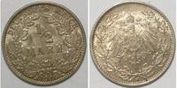 1/ 2 Mark 1916 J Kaiserreich  vz  9,00 EUR  zzgl. 2,95 EUR Versand