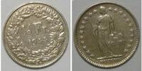 1/2 Franken 1944 Schweiz  ss  3,00 EUR  zzgl. 2,95 EUR Versand