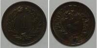 1 Rappen 1913 Schweiz  bankfrisch unzirkuliert  14,00 EUR  zzgl. 4,50 EUR Versand