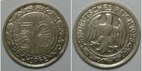 50 Pf 1928 A Weimar Kursmünze ss  3,00 EUR  zzgl. 2,95 EUR Versand