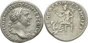 Denar 98-117 n.Ch Italien/R0m Traian 103-1...
