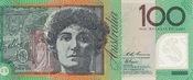 100 Dollars 1996 Australia MELBA P.55a unz