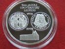 BRD 10 Euro BRD 10 Euro 2009  600 Jahre Uni Leipzig