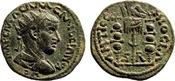 AE 23  Roman Provincial Pisidia, Antiochei...
