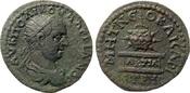 AE 26  Roman Provincial Pontos, Neokaisare...
