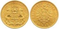 20 Mark Gold 1878  J Hamburg  Sehr schön - vorzüglich  395,00 EUR