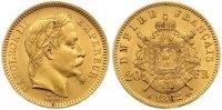 20 Francs Gold 1862  A Frankreich Napoleon III. 1852-1870. Sehr schön -... 255,00 EUR