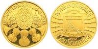 500 Schilling Gold 1992 Österreich Zweite Republik nach 1945. Polierte ... 335,00 EUR