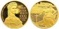 1000 Schilling Gold 1998 Österreich Zweite Republik nach 1945. Polierte... 675,00 EUR