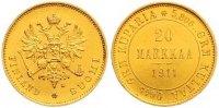 20 Markkaa Gold 1911  L Finnland Nikolaus II. von Russland 1894-1917. V... 485,00 EUR