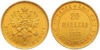 20 Markkaa Gold 1913  S Finnland Nikolaus II. von Russland 1894-1917. V... 525,00 EUR