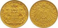 10 Mark Gold 1898  J Hamburg  Sehr schön - vorzüglich  235,00 EUR