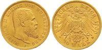 20 Mark Gold 1900  F Württemberg Wilhelm II. 1891-1918. Winziger Randfe... 425,00 EUR  +  7,00 EUR shipping