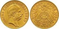 10 Mark Gold 1904  E Sachsen Georg 1902-1904. Winziger Randfehler, vorz... 685,00 EUR