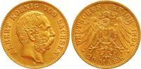20 Mark Gold 1894  E Sachsen Albert 1873-1902. Fast vorzüglich  385,00 EUR