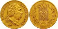 40 Francs Gold 1818  W Frankreich Ludwig XVIII. 1814, 1815-1824. Sehr s... 550,00 EUR